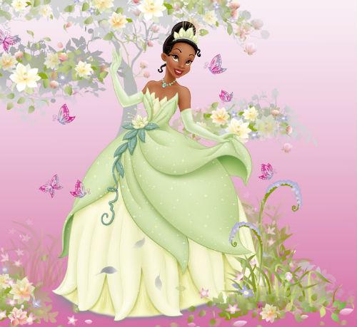 princess tiana frog